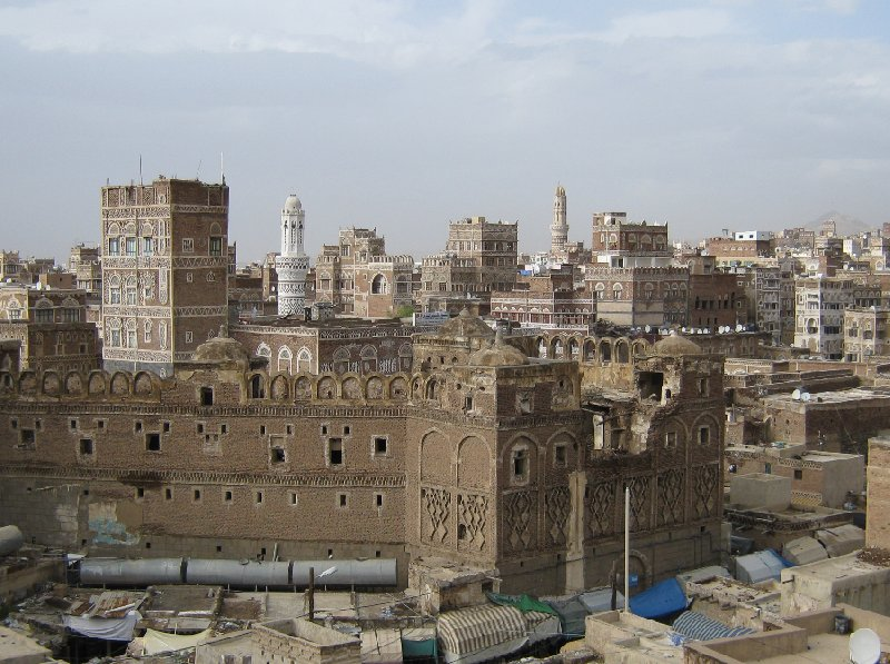 Flight to Sana'a, my vacation in Yemen Sanaa Album Pictures
