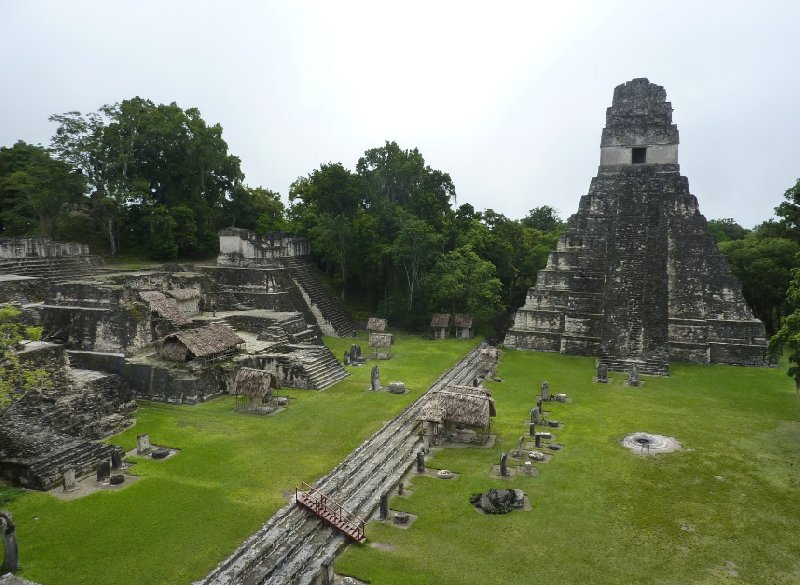 Photo Tikal Tour of the Mayan Ruins, Guatemala located