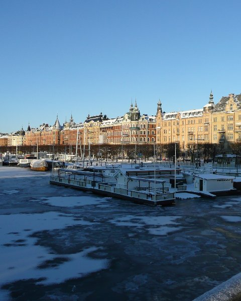 Christmas Holiday in Stockholm Sweden Photo