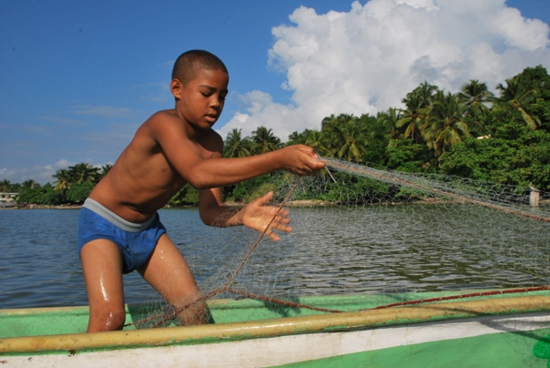 Shrimp-Fishing in Dominican republic Sanchez Ramirez Picture gallery