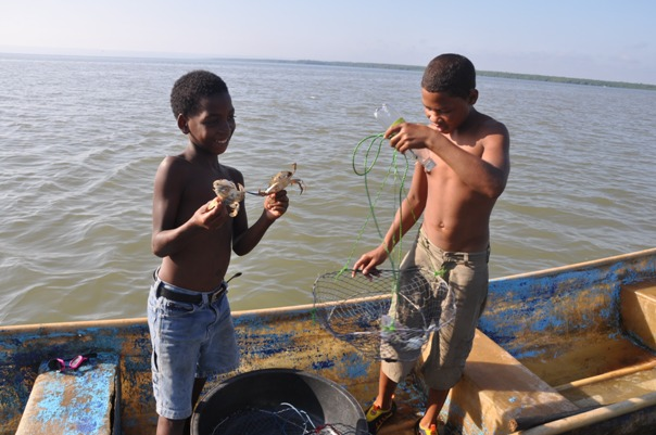 Shrimp-Fishing in Dominican republic Sanchez Ramirez Album Pictures