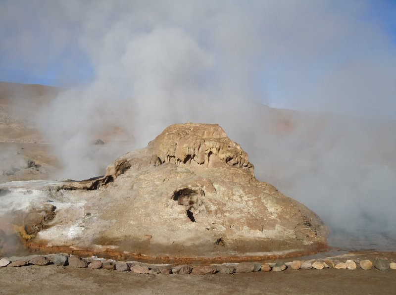 Bus tour from Chile to Bolivia El Tatio Trip