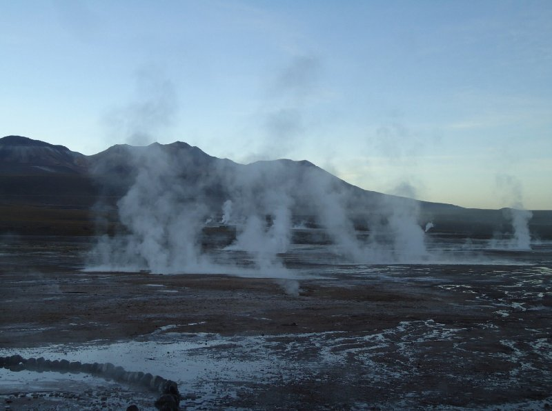 Bus tour from Chile to Bolivia El Tatio Album Photographs