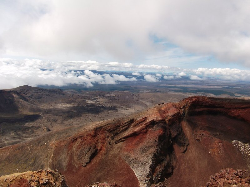 Tongariro Crossing New Zealand Erua Vacation Diary