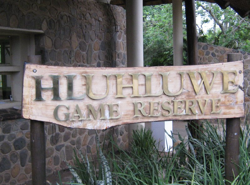 Photo Hluhluwe Game Reserve through