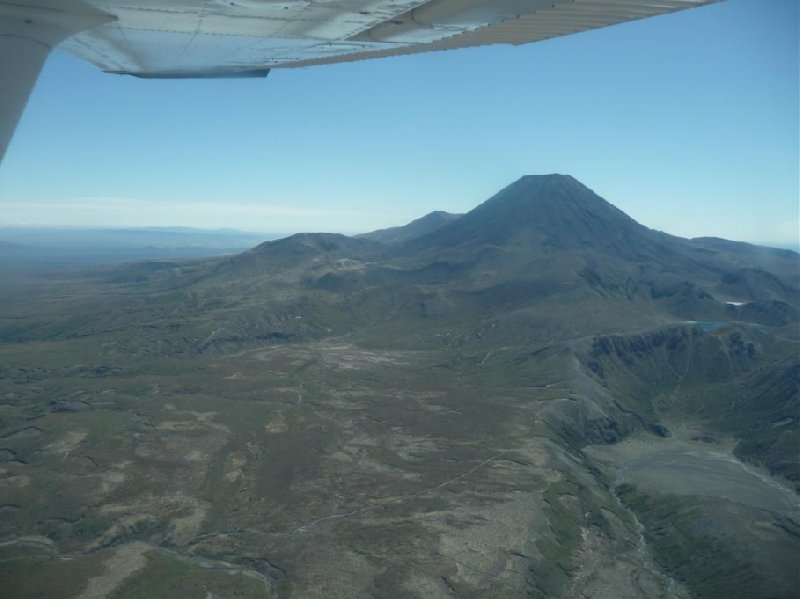 Mount Ngauruhoe flight New Zealand Travel Experience