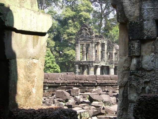 Tuk tuk temple tour in Siem Reap Angkor Cambodia Holiday Adventure