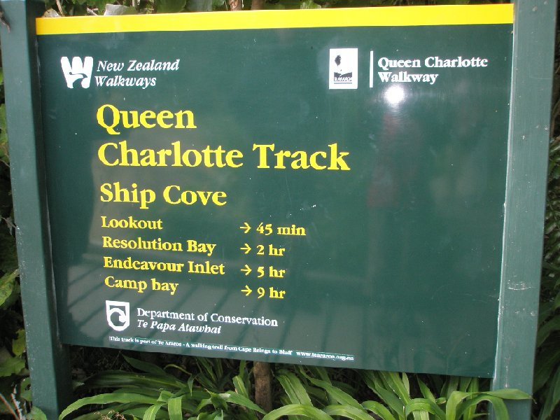 Photo Queen Charlotte Track New Zealand stunning
