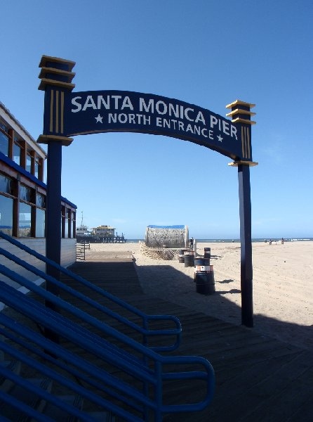 Santa Monica Beach Holiday United States Photographs