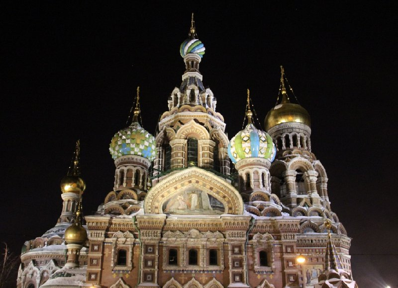 2 Day Stay in St Petersburg Russia Trip Photographs