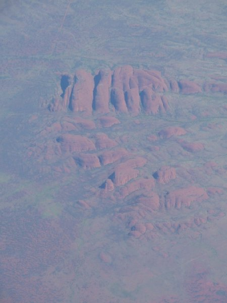 Flight from Perth to Alice Springs Australia Travel Diary
