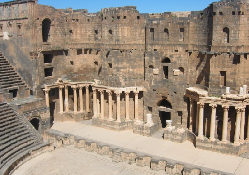 Trip from Damascus to Jerash Jordan Album Pictures