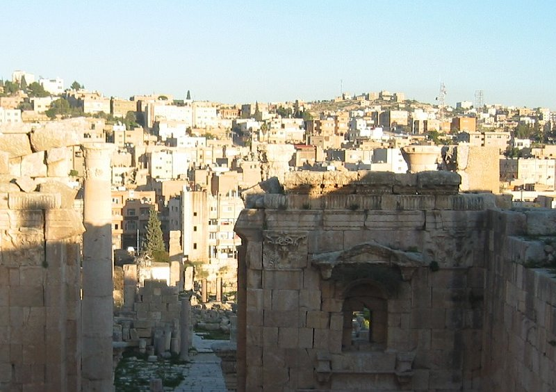 Trip from Damascus to Jerash Jordan Diary Adventure