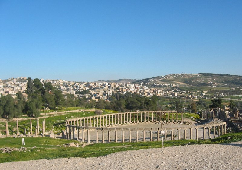 Trip from Damascus to Jerash Jordan Review Photograph
