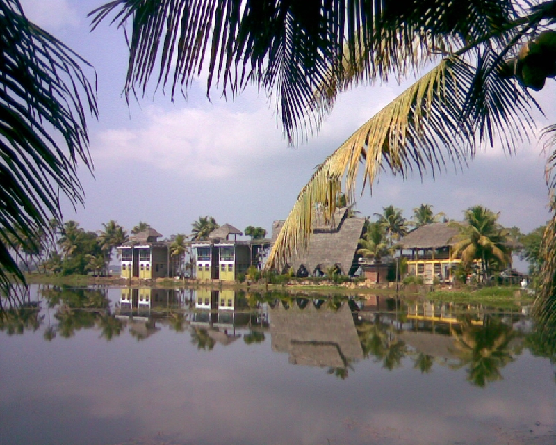 backwater island resort, this the undiscovered secret place to stay and skip from rush life, 09895407909 , India