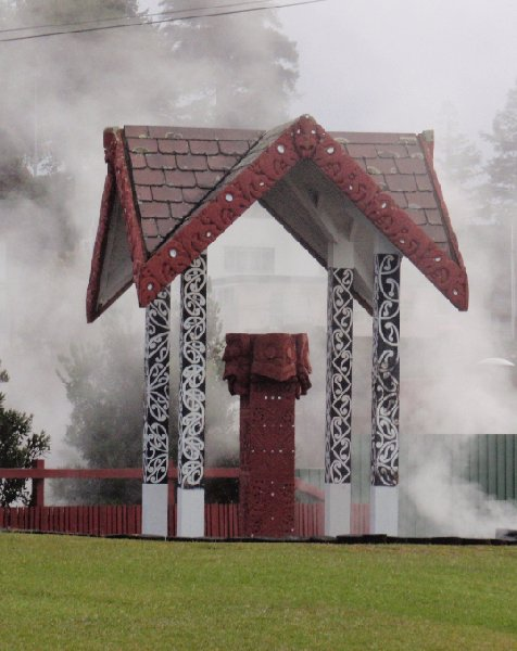 Day Trip to Rotorua from Auckland New Zealand Vacation Photo