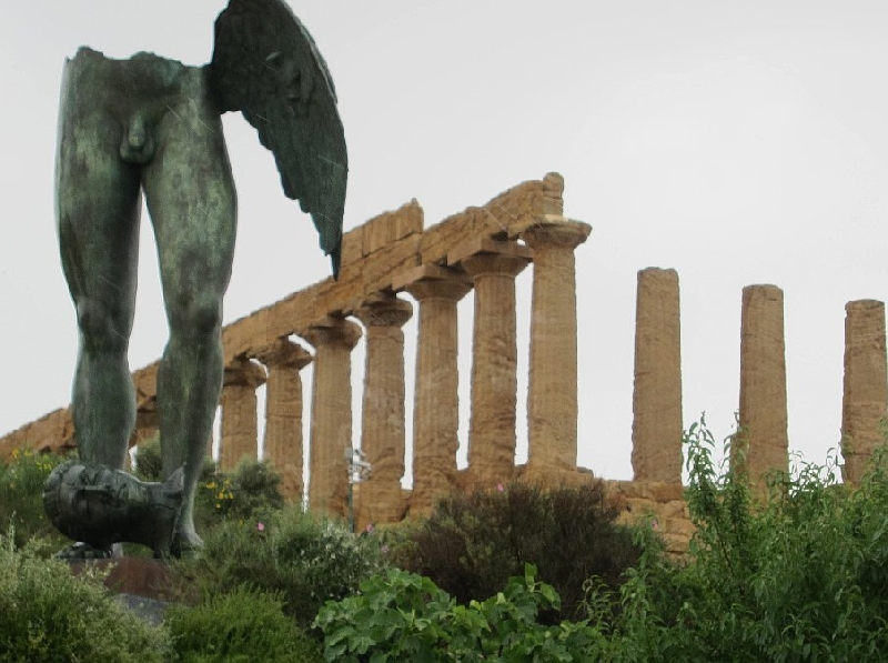 Photo Valley of the Temples Agrigento Sicily