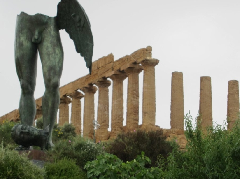 Valley of the Temples Agrigento Sicily Italy Vacation Picture