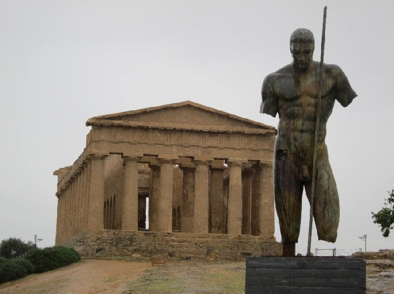 Valley of the Temples Agrigento Sicily Italy Travel Photos