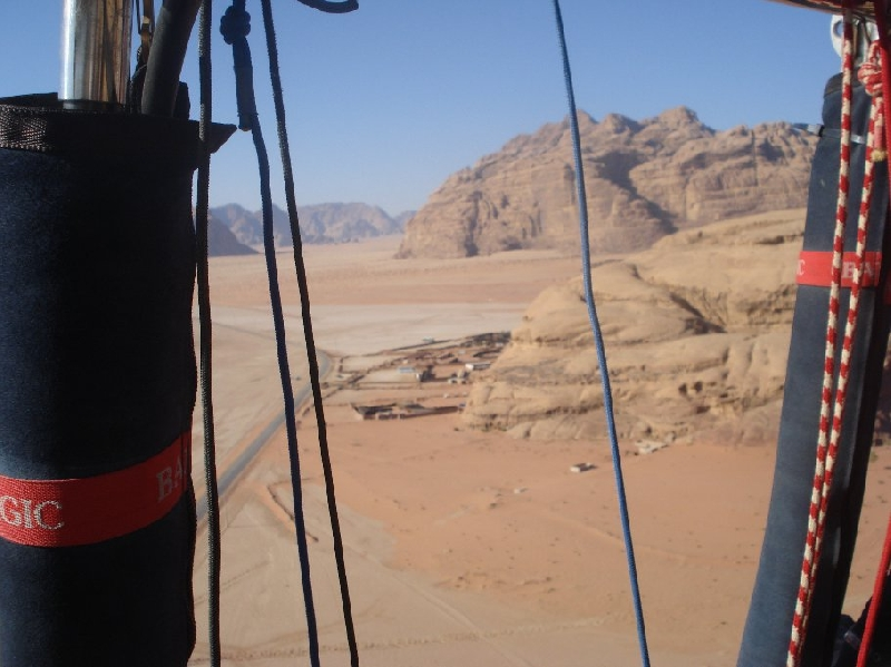 Hot Air Balloon Tour Wadi Ramm Jordan Travel Blog