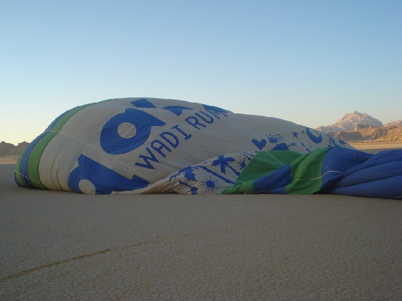 Hot Air Balloon Tour Wadi Ramm Jordan Vacation Information