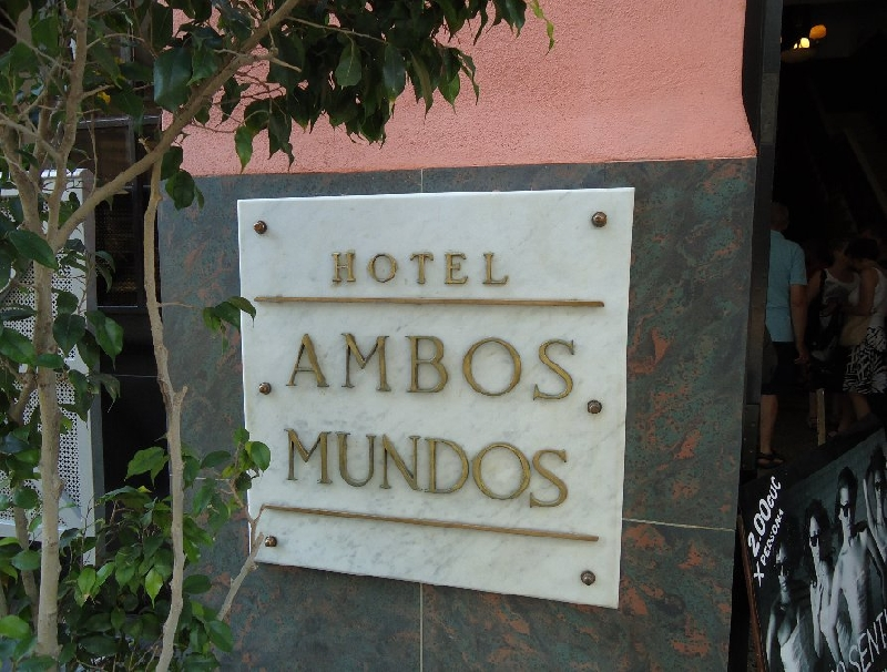 Hotel Ambos Mundos Havana Cuba Blog Photo