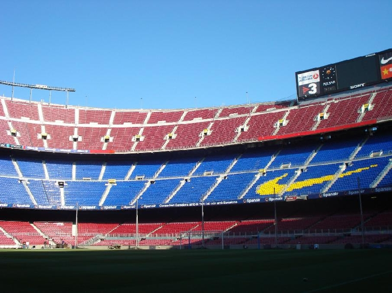 FC Barcelona Tour 2011 Tickets Spain Vacation Photo