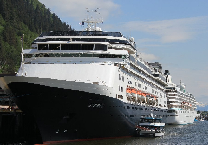Volendam Cruise Ship Alaska AK United States Blog Photo