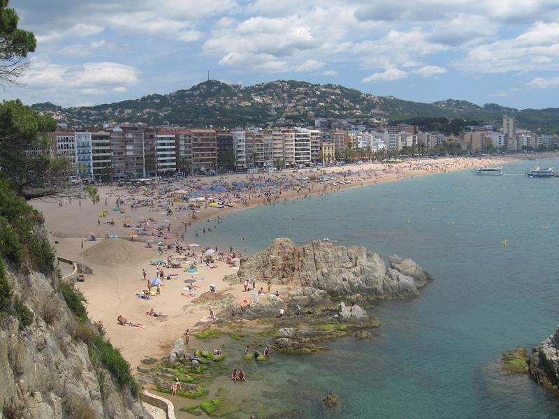 Photo Lloret de Mar and Barcelona