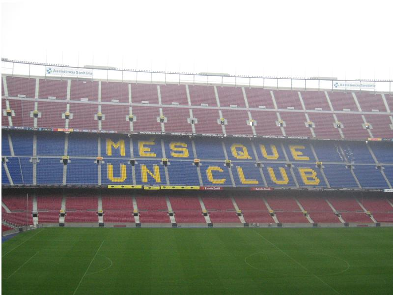 FC Barcelona Tour 2011 Tickets Spain Diary Picture