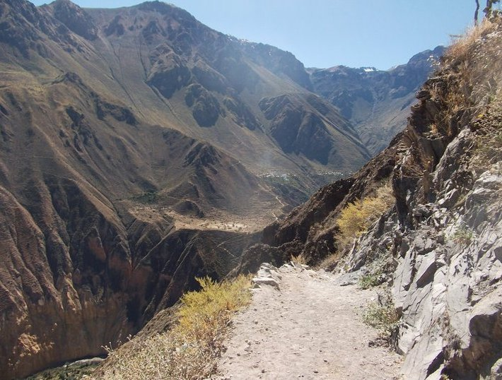 Adventure Travel Colca Canyon Peru Trip Photos
