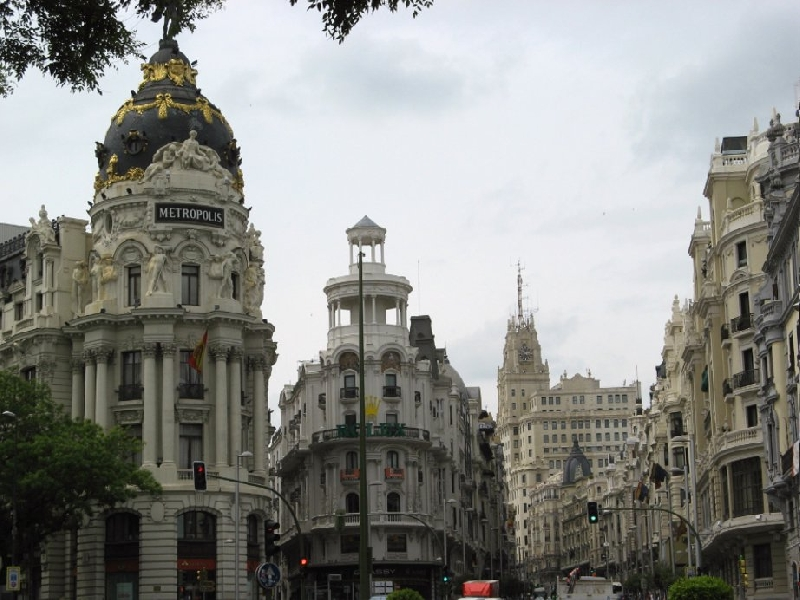 Round trip Spain: Madrid Holiday Experience