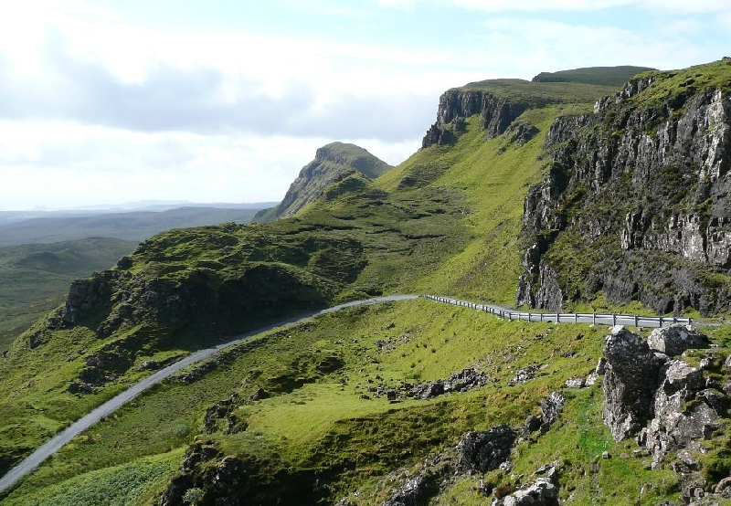 Touring Scotland by car United Kingdom Vacation Pictures