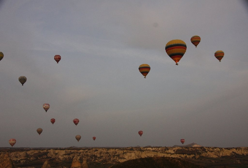 Cappadocia Turkey Balloon Ride Kayseri Vacation Adventure