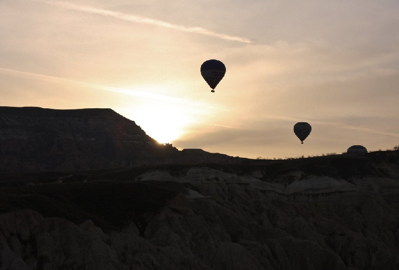 Cappadocia Turkey Balloon Ride Kayseri Story Sharing