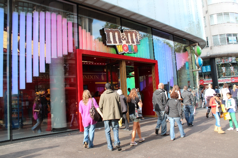 M&M World London Things To Do United Kingdom Trip