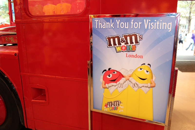 M&M World London Things To Do United Kingdom Blog Photography
