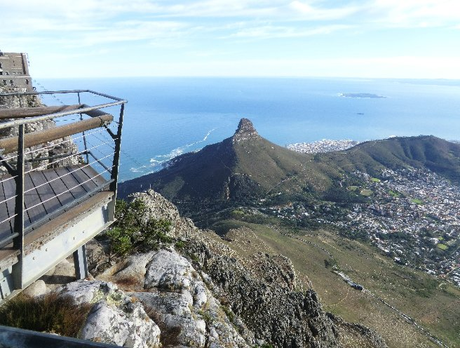 Cape Town Coastline South Africa Diary Experience