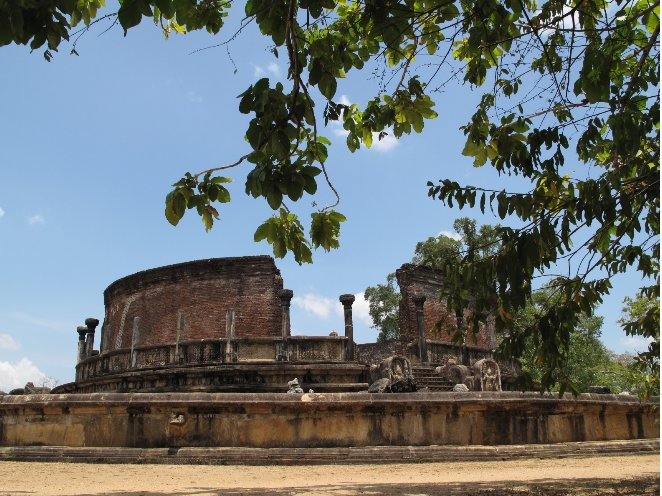 Ancient City Polonnaruwa Sri Lanka Tour Blog Adventure