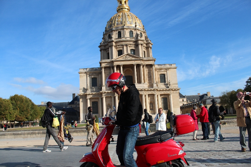 Photo Paris Scooter Tours