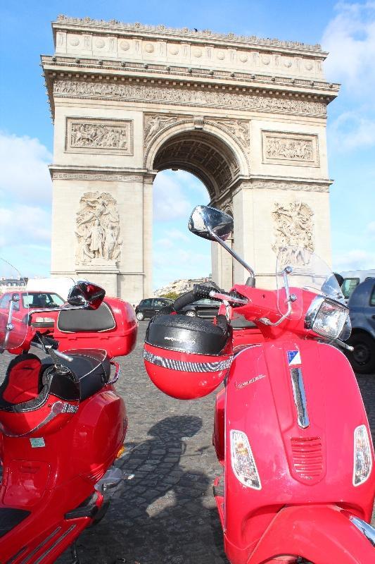 Champs-Elysées Paris France Vacation Diary