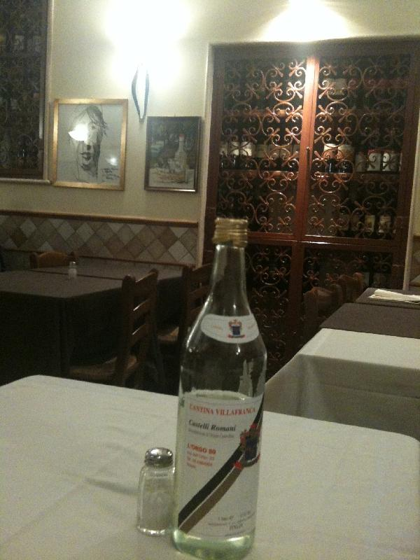 Photo Great Restaurant Rome Italy