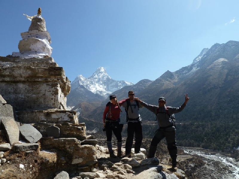 Recently we returned from a four-day trek with a friend in the Annapurna Himalayan Boasting spectacular scenery, rugged terrain and extremely welcoming locals, I've never visited another place on earth like 