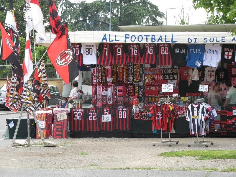 AC Milan Soccer Match Milano Italy Experience
