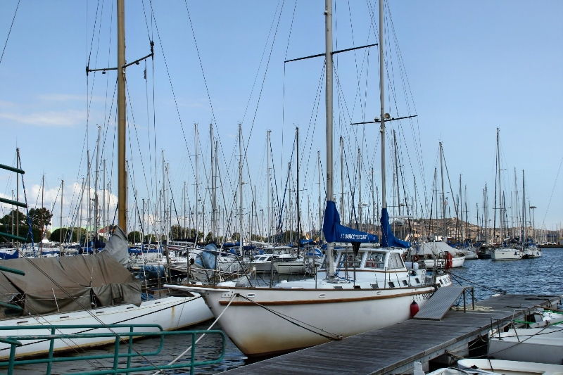 The harbour of Cagliari Italy Blog Pictures