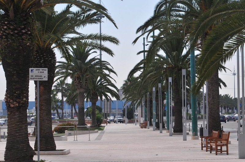 The harbour of Cagliari Italy Travel Album