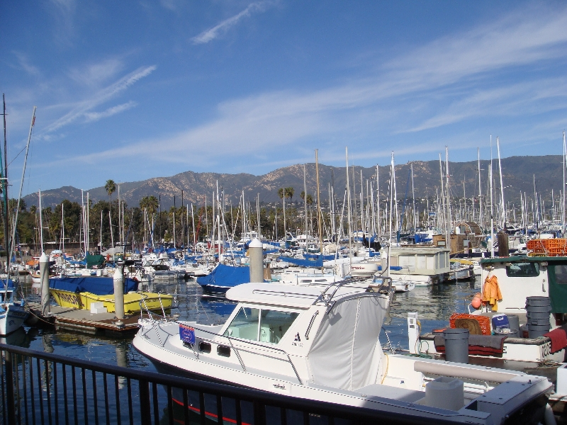 Santa Barbara Docking United States Diary Photography