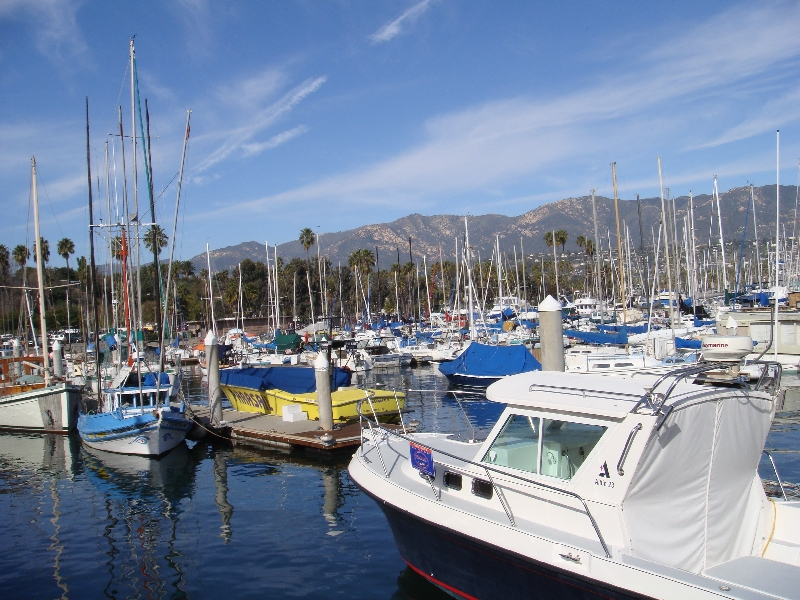 Santa Barbara Docking United States Photography