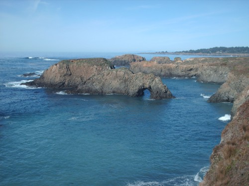 Scenic Mendocino United States Diary Photo