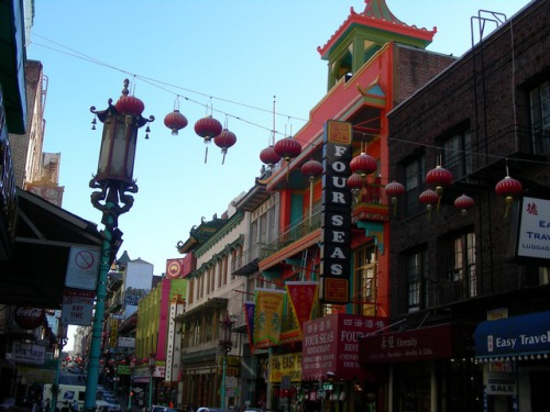 Photo Chinatown in San Francisco
